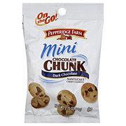 Pepperidge Farm On the Go! Mini Chocolate Chunk Nantucket Dark Chocolate Cookies
