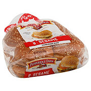 Pepperidge Farm Sesame Topped Hamburger Buns