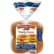 Pepperidge Farm Soft 100% Whole Wheat Hamburger Buns