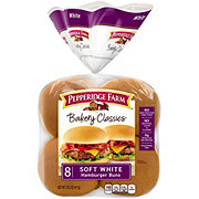 Pepperidge Farm Soft White Hamburger Buns