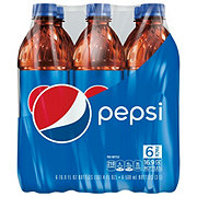 Pepsi Cola 16.9 oz Bottles