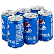 Pepsi Cola Made with Real Sugar 7.5 oz Cans