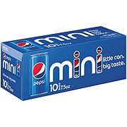 Pepsi Cola Mini 7.5 oz Cans