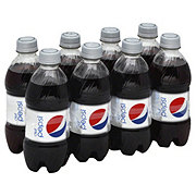 Pepsi Diet Cola 12 oz Bottles