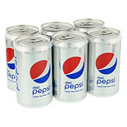 Pepsi Diet Cola 7.5 oz Cans