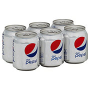 Pepsi Diet Cola 8 oz Cans