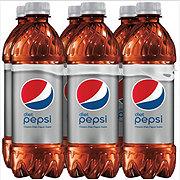 Pepsi Diet Cola Classic 16.9 oz Bottles