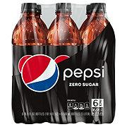 Pepsi Max Zero Calorie Cola 6 PK Bottles