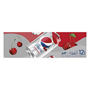 Pepsi Wild Cherry Diet Cola 12 oz Cans