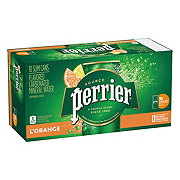 Perrier Sparkling Mineral Water, Lemon-Orange