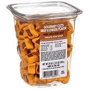 Pet Life Gourmet Cuts Beef & Cheese Dog Treats