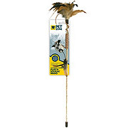 Pet Zone Tethered N Feathered Play N Squeak Wand