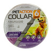 PetAction 6 Month Flea & Tick Collar Large Dogs