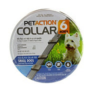 PetAction 6 Month Flea & Tick Collar For Small Dogs