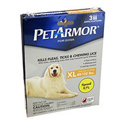 PetArmor For Dogs 89-132 Pounds