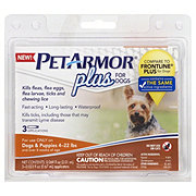 PetArmor Plus For Dogs 4-22 Pounds