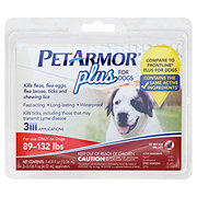 PetArmor Plus for Dogs 89-132 Pounds