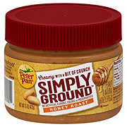 Peter Pan Simply Ground Honey Roast Peanut & Natural Honey Spread