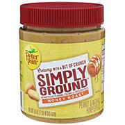 Peter Pan Simply Ground Honey Roast Peanut Butter