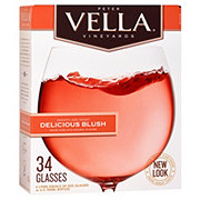 Peter Vella Vineyards Delicious Blush Wine