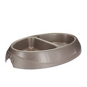 Petmate 1 Cup Pet Double Diner Gold