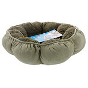 Petmate Aspen Pet Puffy Round Cat Bed