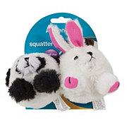 Petmate Aspenpet Squatter Panda & Rabbit Small Dog Toys