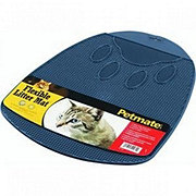 Petmate Blue Flexible Litter Mat