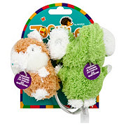 Petmate Booda Terry Chipmunk & Elephant Small Dog Toys
