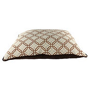 Petmate Jacquard Fashion Pillow Dog Bed 27
