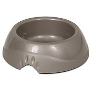Petmate Jumbo Ultra Lightweight Tan Dog Dish