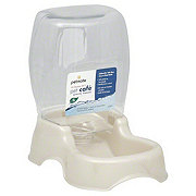 Petmate Pet Cafe 0.25 Gallon White Gravity Waterer