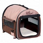 Petmate Small Brown Portable Pet Home