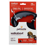 Petmate Walkabout Retractable Cord Leash Black