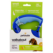 Petmate Walkabout Retractable Cord Leash Blue
