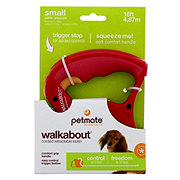 Petmate Walkabout Retractable Cord Leash Red