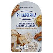 Philadelphia Bagel Chips & Brown Sugar and Cinnamon Cream Cheese Dip
