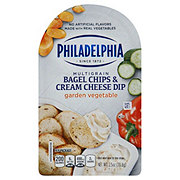 Philadelphia Bagel Chips & Cream Cheese Garden Vegetable