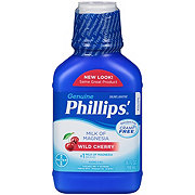 Phillips Milk of Magnesia Wild Cherry Liquid Laxative
