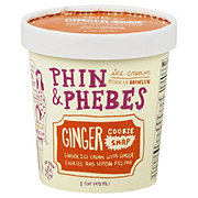 Phin & Phebes Ginger Cookie Snap Ice Cream
