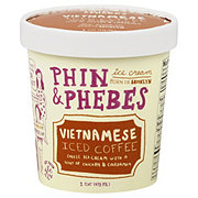 Phin & Phebes Vietnamese Iced Coffee Ice Cream