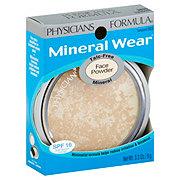 Physicians Formula Mineral Wear Translucent  Face Powder