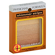 Physicians Formula Shimmer Strips Vegas Strip/Light Bronzer Custom Bronzer, Blush and Eye Shadow