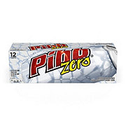 Pibb Zero Sugar Free Soda 12 oz Cans