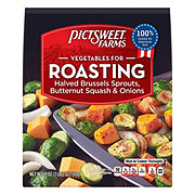 Pictsweet Vegetables For Roasting Halved Brussels Sprouts Butternut Squash & Onions