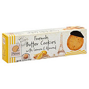 Pierre Biscuiterie French Butter Cookies with Lemon & Almond