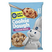 Pillsbury Big Deluxe Oatmeal Raisin Cookie Dough