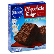 Pillsbury Chocolate Fudge Brownie Mix Family Size