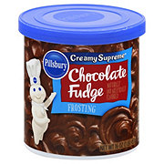 Pillsbury Creamy Supreme Chocolate Fudge Frosting