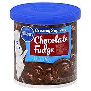 Pillsbury Creamy Supreme Chocolate Fudge Frosting
